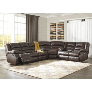 Lunceford Reclining Sectional by Alcott Hill