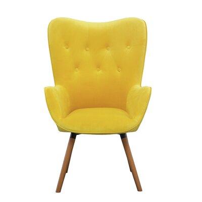 Modern Amp Contemporary Tall Wingback Chair Allmodern