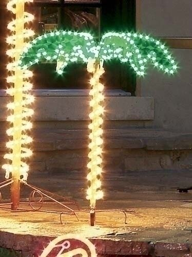 Roman inc tropical lighted holographic rope light outdoor palm tropical lighted holographic rope light outdoor palm tree decoration aloadofball Choice Image
