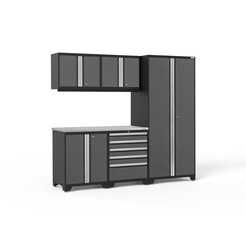 Pro 3 0 Series 5 Piece Storage Cabinet Set