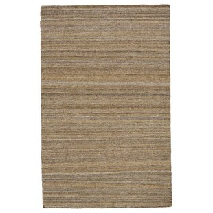 2c98086b4e7f Mcmurtry Hand-Woven Wool Brown Area Rug