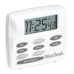 west bend timer instructions manual