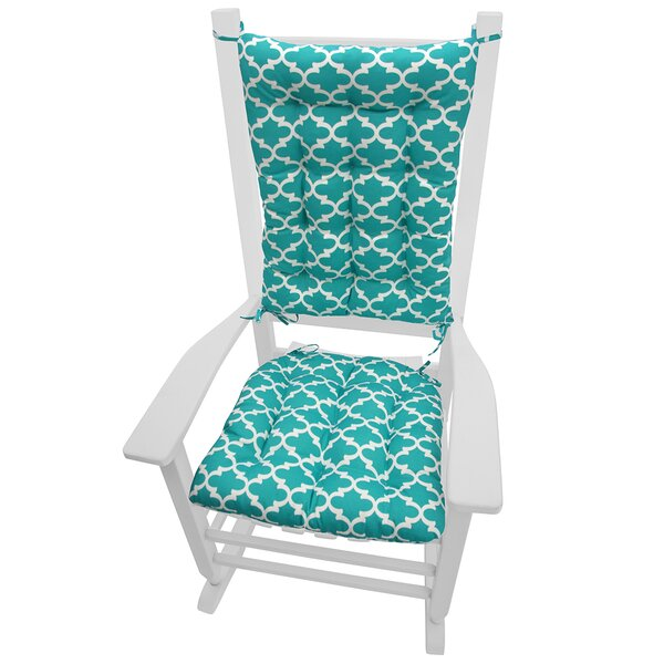 Barnett Home Decor Garden Indoor Outdoor Rocking Chair Cushion Reviews Wayfair