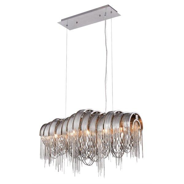 Contemporary waterfall chandelier wayfair