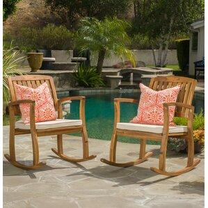 Coyne Acacia Rocking Chair (Set Of 2)
