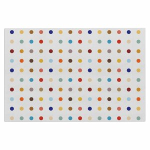 Empire Ruhl Fall Dots Pastel Digital Doormat