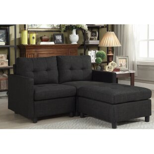 Westerleigh Reversible Modular Sectional With Ottoman