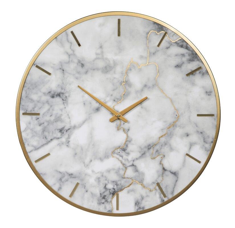Large Wall Clock In Foyer : Oversized malek quot wall clock reviews joss main