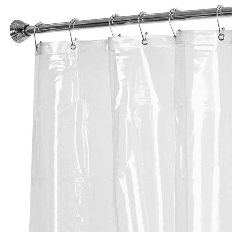 Maytex 10 Gauge Super Heavyweight Vinyl Shower Curtain