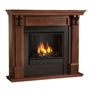 Real Flame Ashley Gel Fuel Fireplace Image