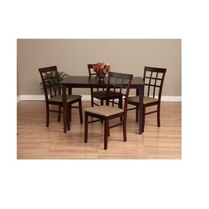 Justin 5 Piece Dining Set by Warehouse of Tiffany