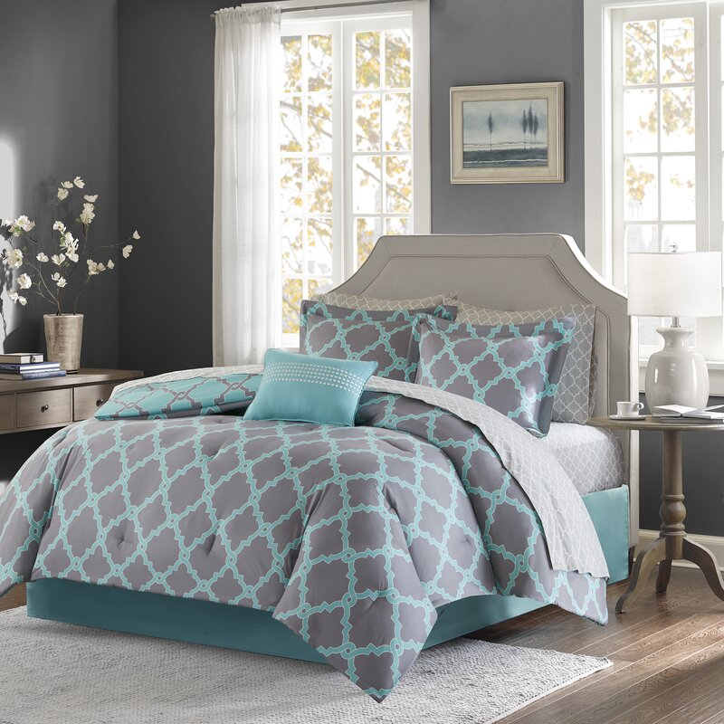 Willa Arlo Interiors Reversible Complete Comforter And