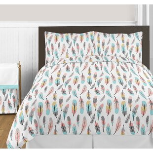 871d2ee3fc Feather Print Comforter