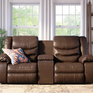 Summey Leather Reclining Sofa