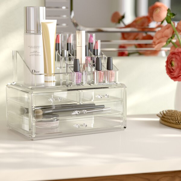 Rebrilliant Jewelry and Cosmetic Organizer Reviews Wayfair