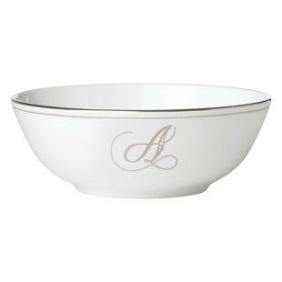 Lenox Federal Platinum Bone China Monogram Salad Bowl  sc 1 st  Wayfair & Lenox China Sets | Wayfair