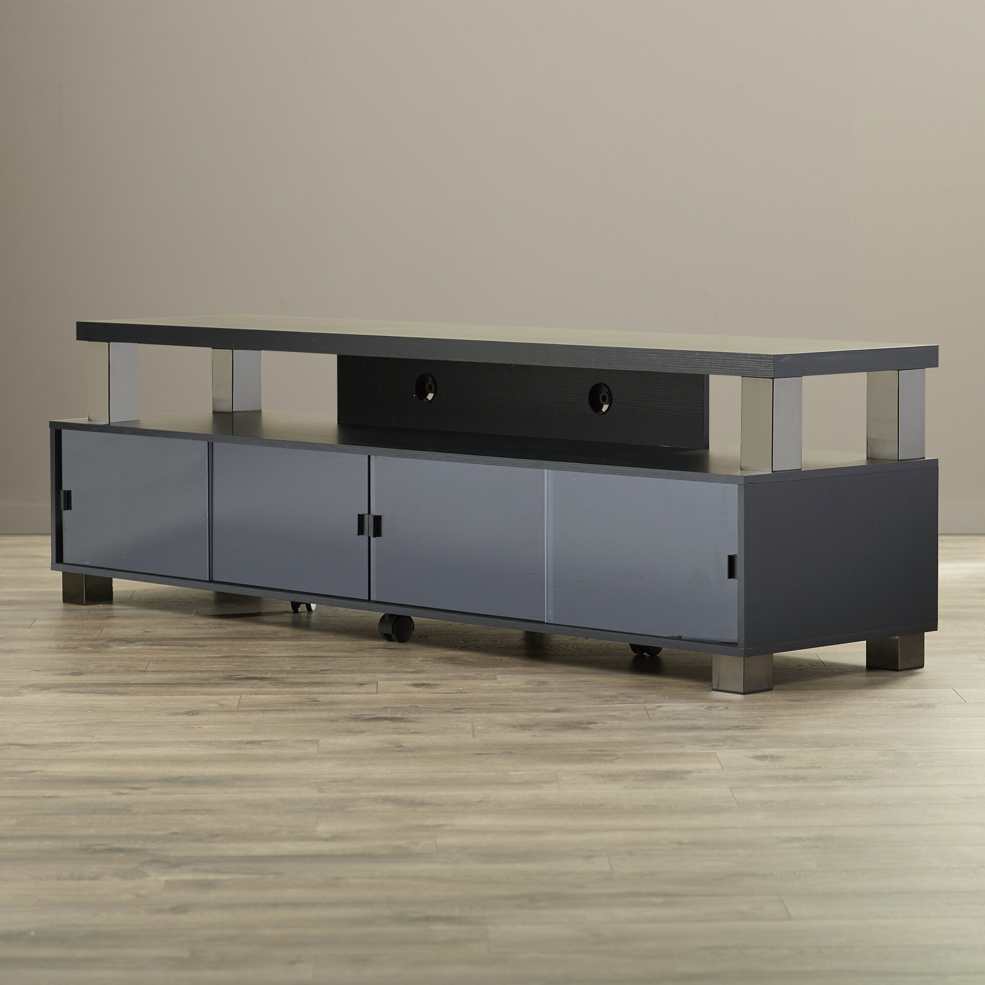 Latitude Run Bukvice 2 Tier Tv Stand For Tvs Up To 75 Reviews