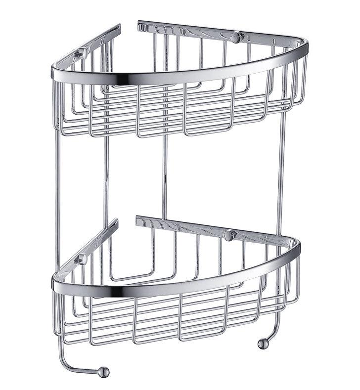 2 Tier Wire Shower Caddy