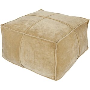 Calista Cotton Velvet Pouf..