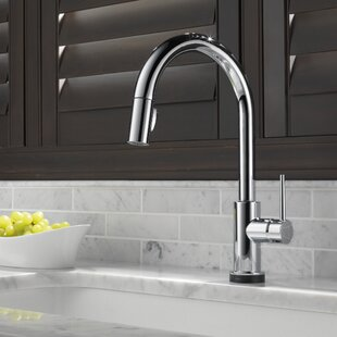 kitchen magnetic delta ujl addison down handle faucet pull dp with single touch dst technology