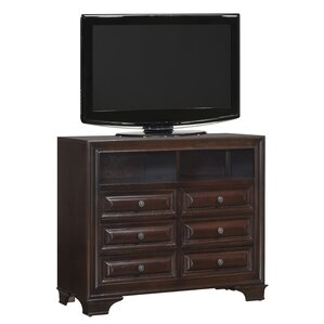 Edwardsville 6 Drawer Media Chest by Darby Home Co