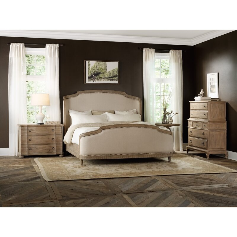 Hooker Furniture Hermon Upholstered Panel Bed Reviews Wayfair