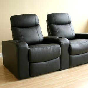 Baxton Studio Home Theater Loveseat by Wholesale Interiors