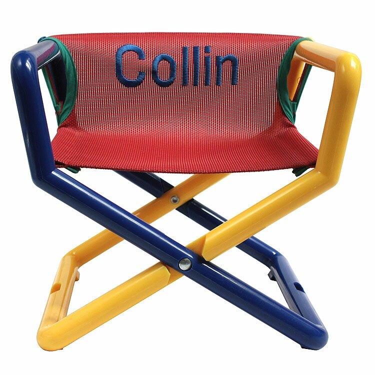 Primary Junior Personalized Kids Directoru0027s Chair
