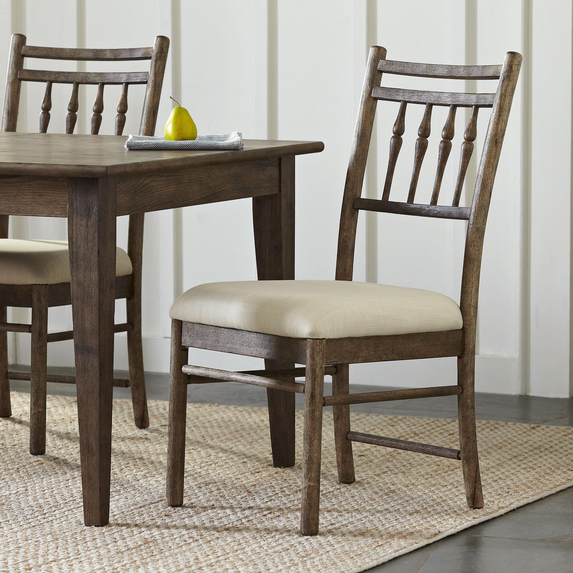 Birch lane riverbank upholstered dining room chair birch lane