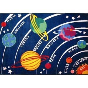 corina solar system classroom area rug