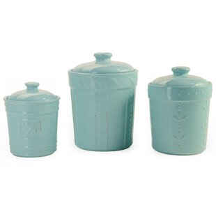 Merveilleux Turquoise Kitchen Canisters | Wayfair