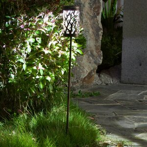 Metal Prism Solar 1-Light Pathway Light