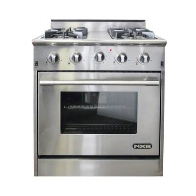 30 gas range double oven 30 nxr professional ranges