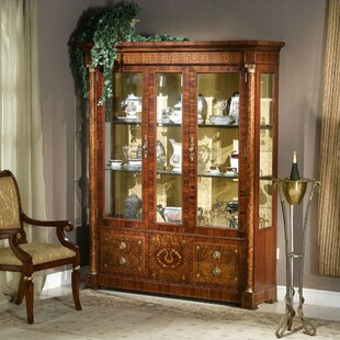Prosperie Three Door Display Cabinet China Cabinet