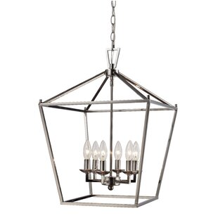 Chrome foyer pendants youll love wayfair chrome foyer pendants aloadofball Images