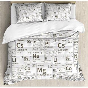 Periodic Table Bedding Wayfair Ca