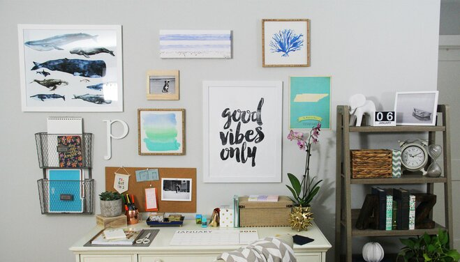 4 Steps to a Personalized Gallery Wall