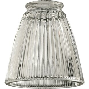 Clear Ribbed 5 Gl Novelty Pendant Shade
