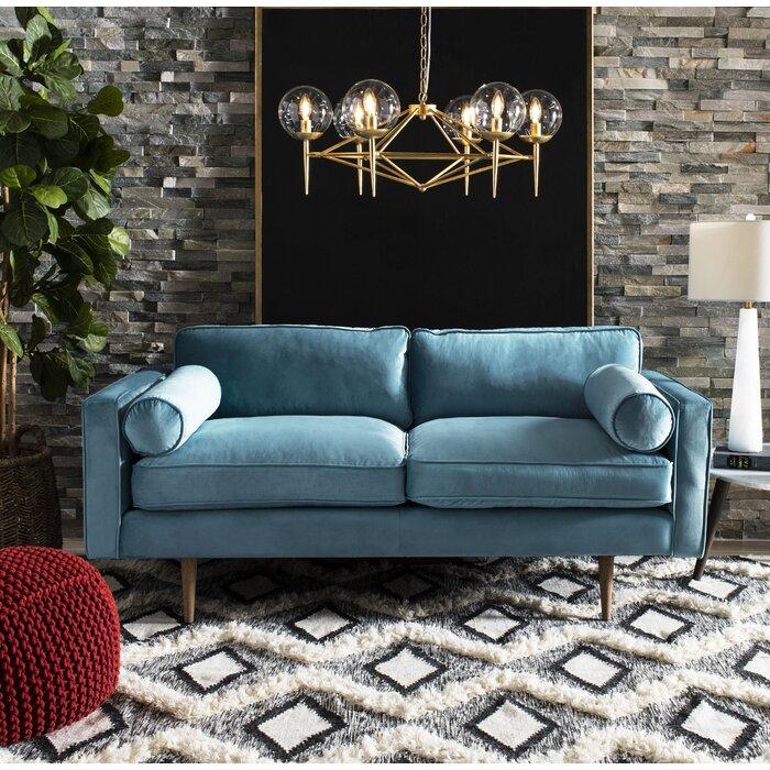 Super Chase Velvet Sofa Uwap Interior Chair Design Uwaporg