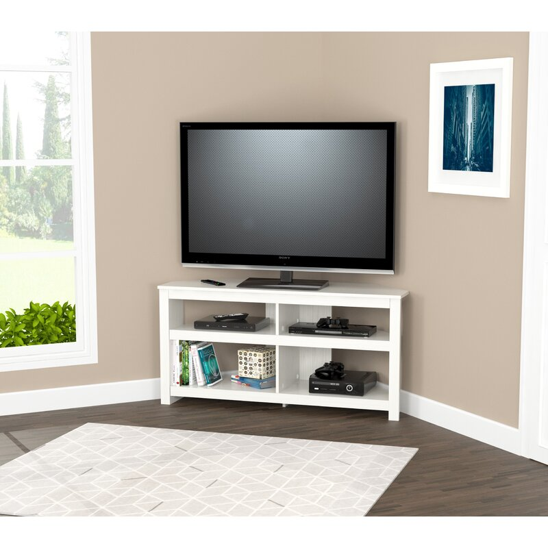 Zipcode Design Chatsworth Corner Tv Stand For Tvs Up To 60
