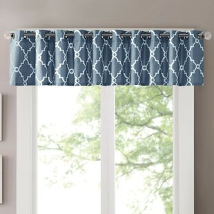 Attractive Blue Valances U0026 Kitchen Curtains