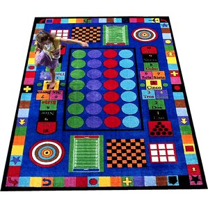 game time area rug