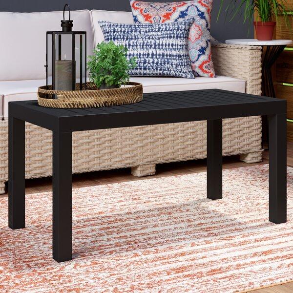 Mercury Row Villani Plastic Coffee Table & Reviews