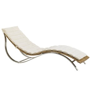 Captivating Tres Chic Outdoor Chaise Lounge Cushion