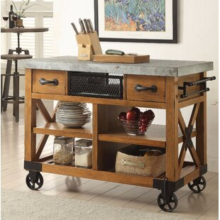 Whyte Wood Kitchen Cart