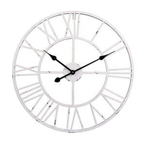 Black And White Wall Clock wall clocks you'll love | wayfair