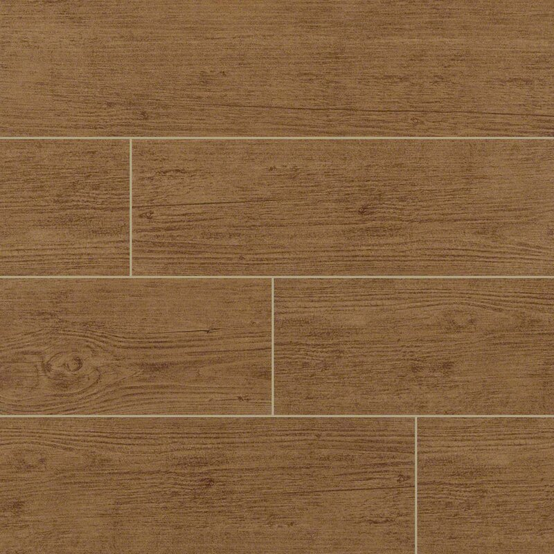 Msi Sonoma Palm 6 X 24 Ceramic Wood Tile In Tan Reviews Wayfair