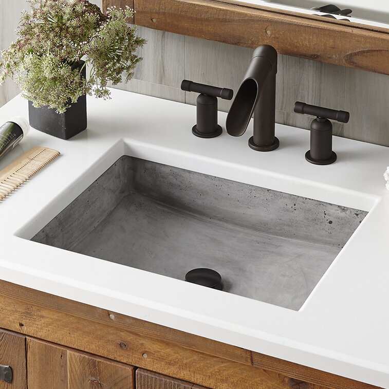 Ordinaire Nipomo Stone Rectangular Undermount Bathroom Sink