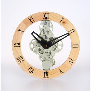 Open Gear Wall Clock | Wayfair
