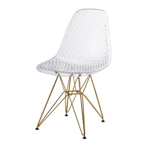 Plastic Side Chair (Set of 2) by Jeco Inc.